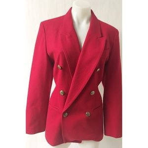 Red/Gold Vintage Blazer 10